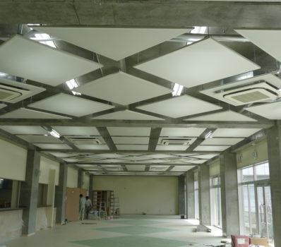 作陽高校 食堂